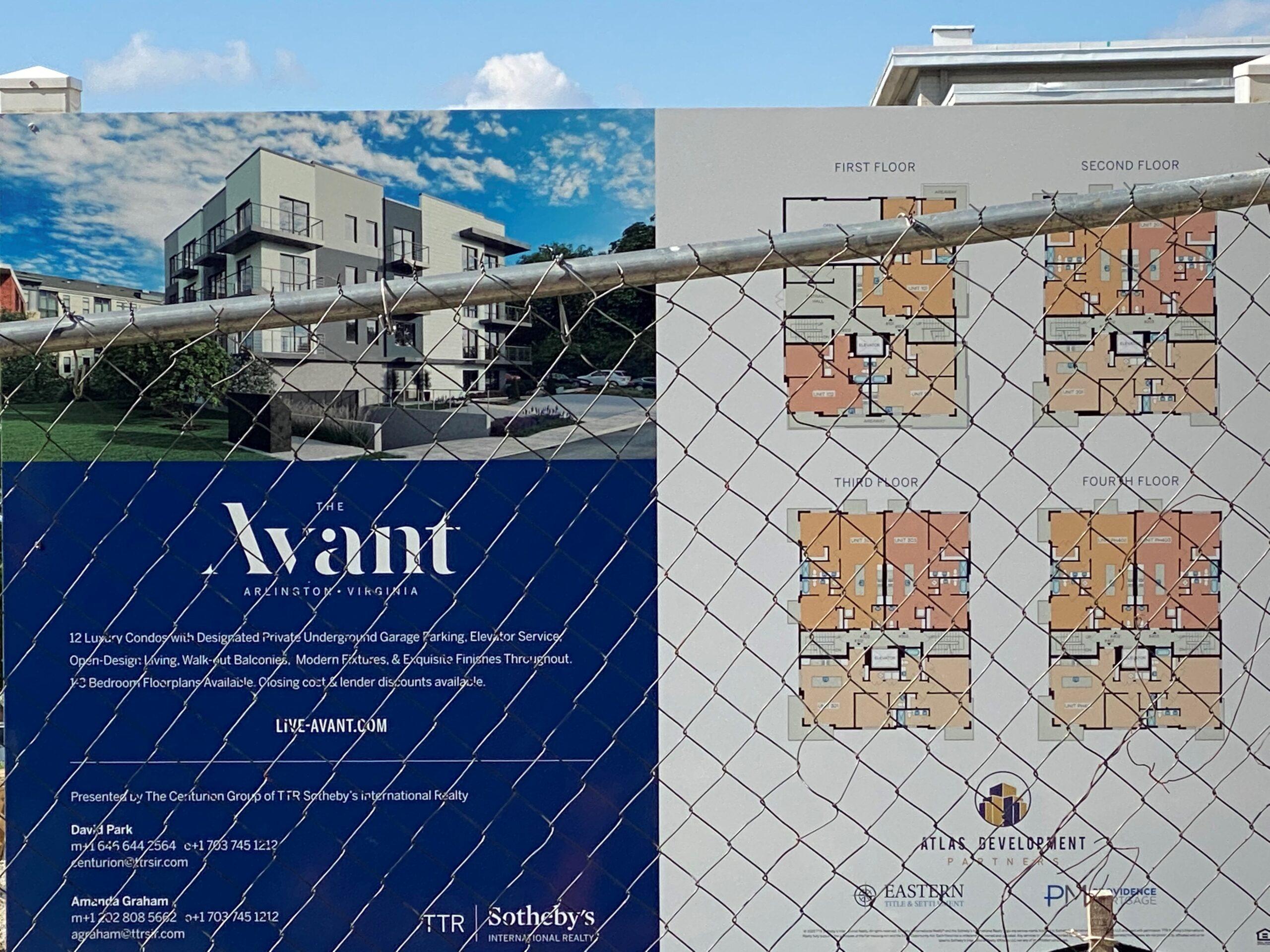 The Avant floor plans